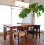 建築家のダイニングテーブル