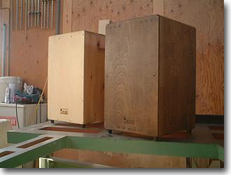 SIGNカホンは、オーダーメイド、セミオーダーで製作します。