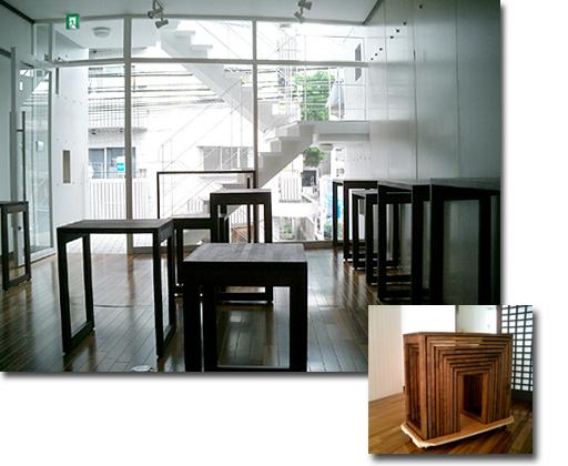 ギャラリー作品展示台・キアン