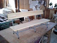 オーダーメイド家具 - 杉の子供用ベンチ