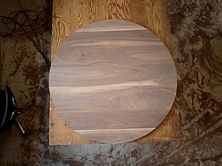 丸テーブルの天板