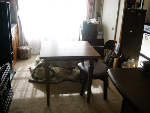 ちよこおばあちゃんのテーブル